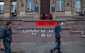 Вбивства, тортури, рабська праця: в Москві провели потужну акцію проти свавілля в російських колоніях
