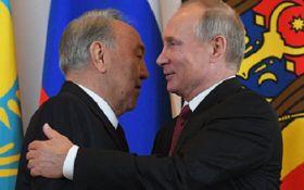 Стало відомо про таємну розмову Путіна і Назарбаєва: що вони обговорювали
