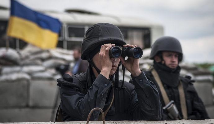 За прошедшие сутки в зоне АТО зафиксировано 84 нарушения режима тишины
