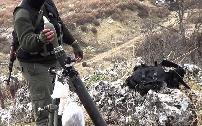 На Донбассе продолжают обстреливать ВСУ из минометов