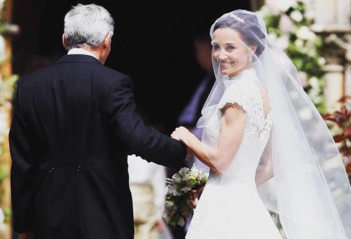 Молодша сестра Кейт Міддлтон вийшла заміж: з'явилися фото (1)