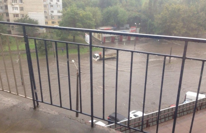 Одесу знову затопило: з'явилися фото (1)