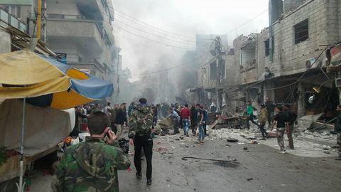 Взрывы в Дамаске унесли более 30 жизней: опубликованы фото (2)