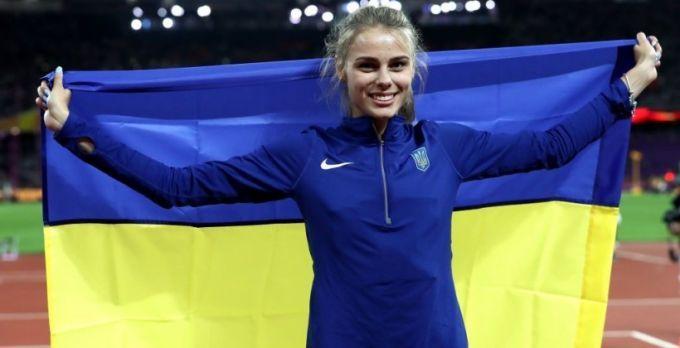 Юлия Левченко — серебряная призерка чемпионата мира по прыжкам в высоту