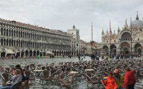 Потужні зливи в Італії: майже 80% Венеції опинилося під водою