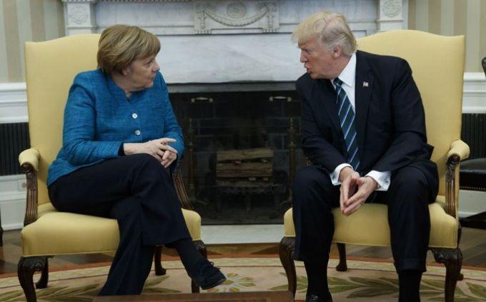 Трамп уговаривает Меркель отказаться от «Северного потока-2»: известны подробности