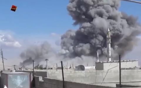 Сирійська опозиція звинуватила Росію в авіаударах по п'яти містах, жоден з яких не контролює Ісламська держава (1)
