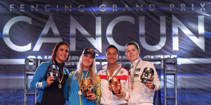 Украинская саблистка Ольга Харлан выиграла этап Кубка мира: видео финального боя