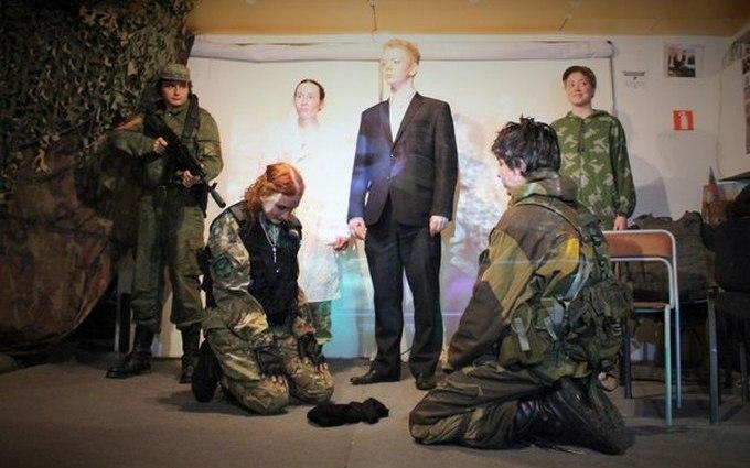 У Росії поставили божевільну виставу про хлопчика-бойовика ДНР: опубліковані фото