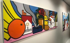 «Шик-модерн»: у Києві відкрилась виставка робіт молодої української художниці