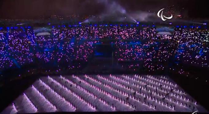 Церемония открытия Паралимпиады-2016: фото и видео из Рио (30)