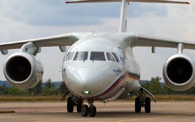 Літак з російськими ГРУшниками летить до Москви
