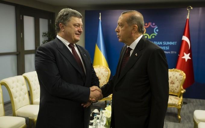 Зустріч Порошенко з президентом Туреччини: стали відомі деталі досягнутих угод