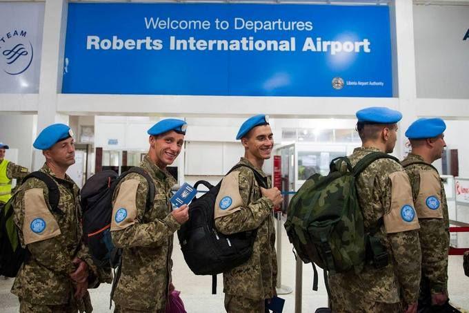 Украинские миротворцы вернулись на родину после 14 лет службы в Африке: опуликованы фото