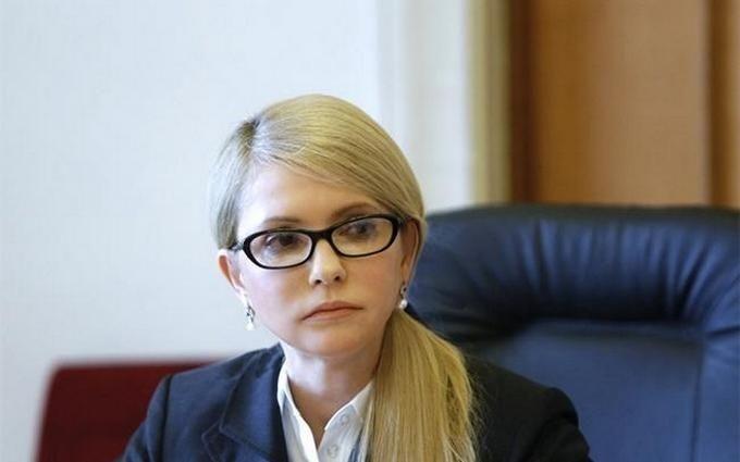 На пресс-конференции Тимошенко вспыхнул скандал с потасовкой: появились видео