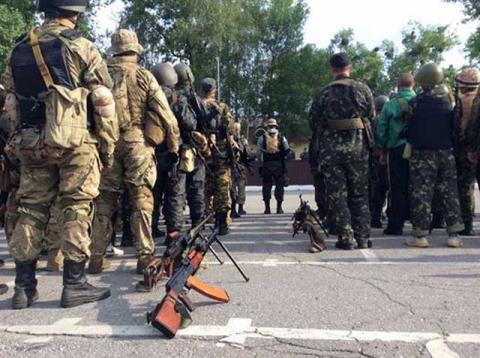 В рамках американо-українських військових навчань пройшли навчання майже 500 нацгвардейцев