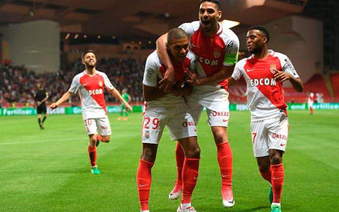 Монако— чемпіон Франції сезону 2016/17
