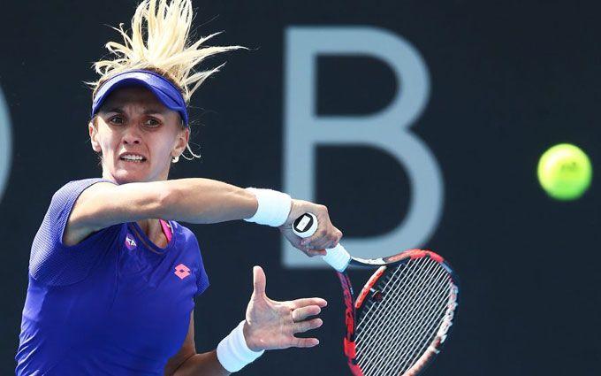 Украинская теннисистка уверенно вышла в четвертьфинал турнира в Австралии