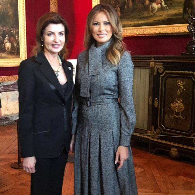 Непревзойденная: Марина Порошенко покорила Париж стильным образом (2)