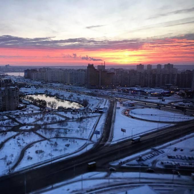 Киев засыпало снегом: в сети опубликованы яркие фото и видео (4)