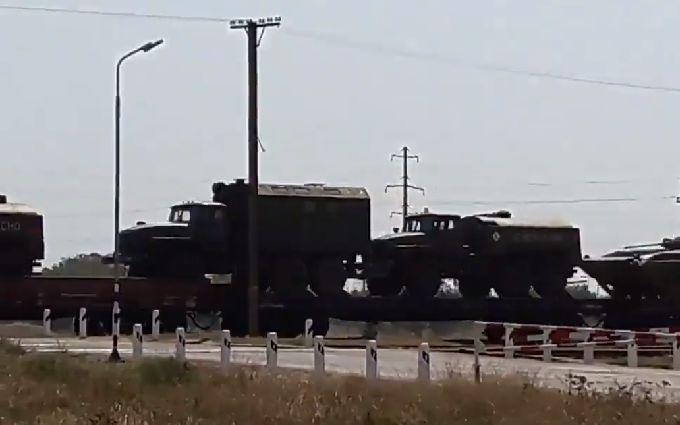 Військова техніка Росії в Криму: з'явилося нове відео