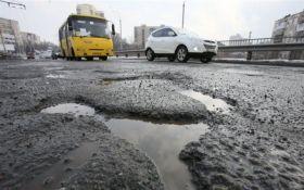 Укравтодор вирішив більше не закладати ями на дорогах