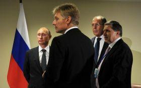Это слив: в Кремле прокомментировали рассказ Олланда об угрозах Путина