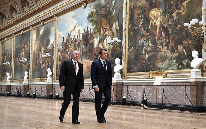 Макрон пригрозив Путіну посилити санкції уразі ескалації насильства насході України