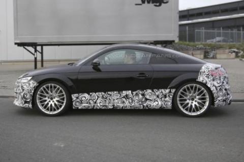 Audi TT-RS Coupe проходить тести у власному кузові (18 фото) (4)