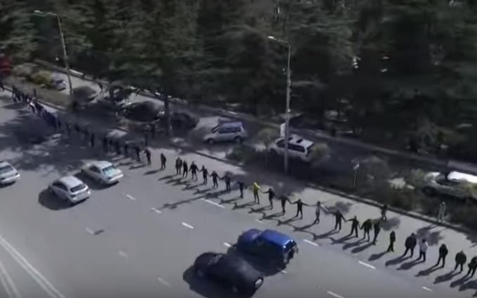 В Грузии выступили за освобождение Савченко: опубликовано видео