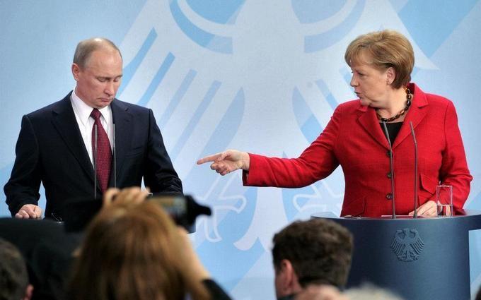 Путин уступил Меркель в вопросе миротворцев ООН на Донбассе
