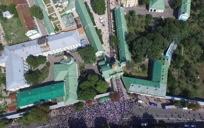 В Киеве празднуют День крещения Киевской Руси: появились фото с высоты птичьего полета (2)