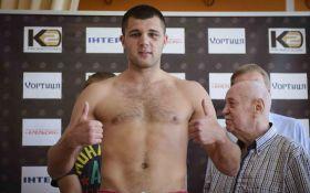 Перспективный украинский боксер одержал яркую победу нокаутом