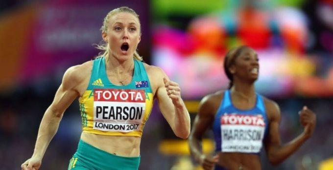 Салли Пирсон удивила победой на 100 метров с барьерами