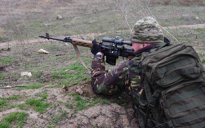 На Донбассе погибли двое украинских военных: карта АТО