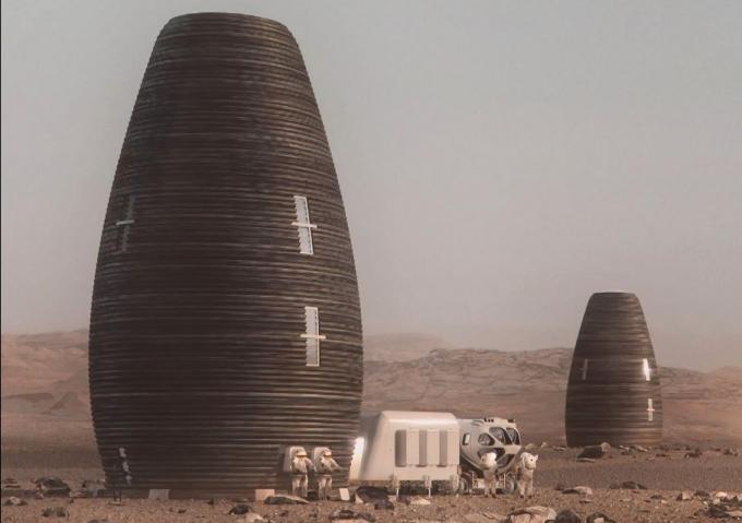 3D-дома для астронавтов: в NASA показали, какое жилье построят на Марсе (2)