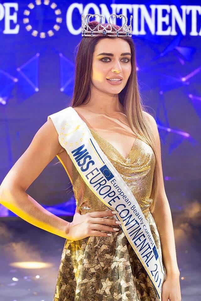 "В конкурсе ""Miss Europe Continental-2017"" победила украинка: появились фото (1)"