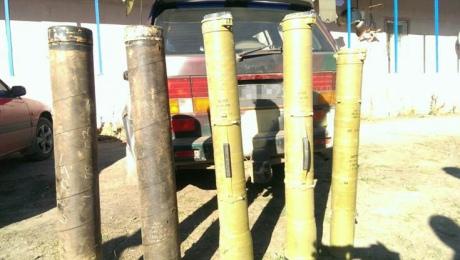 У Луганській області знайшли схованку з протитанковими ракетними комплексами (1)