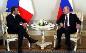 Путин и Макрон провели телефонные переговоры: о чем говорили президенты России и Франции