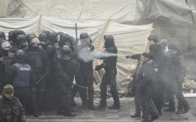 Столкновения в центре Киева: стало известно о пострадавших и задержании
