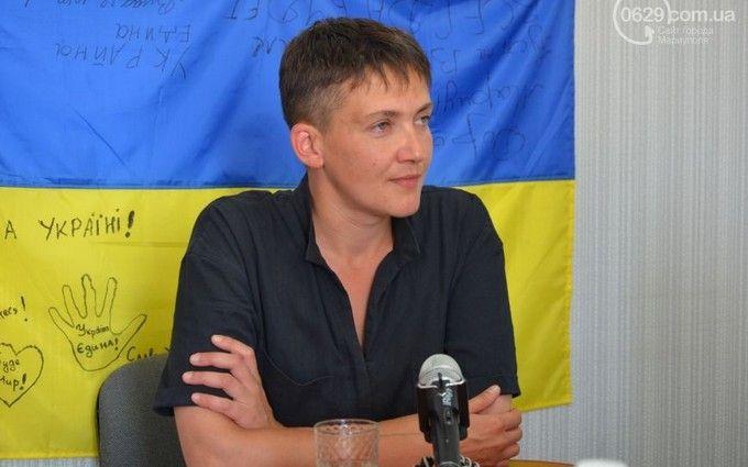 Савченко розповіла, як відчувала себе мавпочкою: опубліковано відео