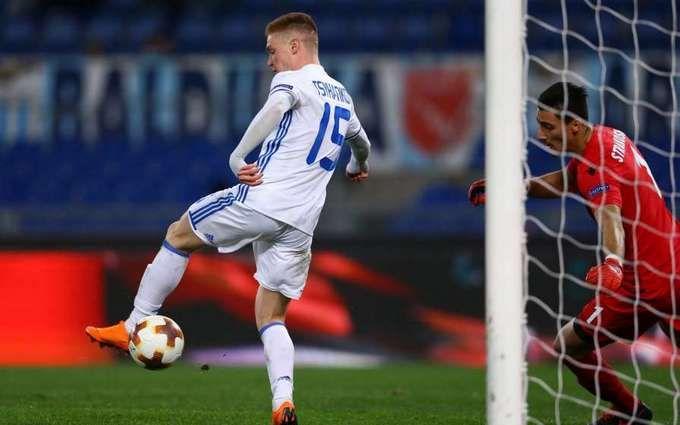 Украинский спортсмен после эффектного гола признан лучшим игроком недели Лиги Европы