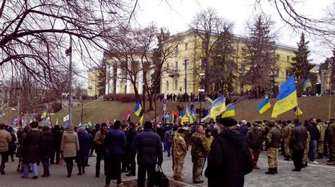 Беспорядки в центре Киева: появились новые фото (1)