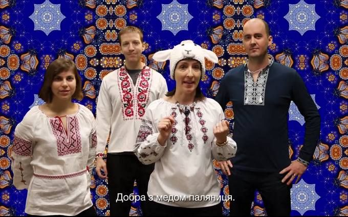 Посольство США поздравило украинцев сНовым годом иРождеством колядками