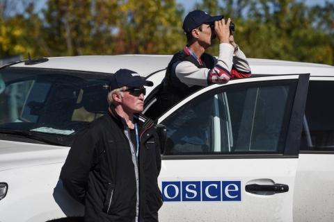 Місія ОБСЄ зафіксувала три літаки на території, підконтрольній бойовикам