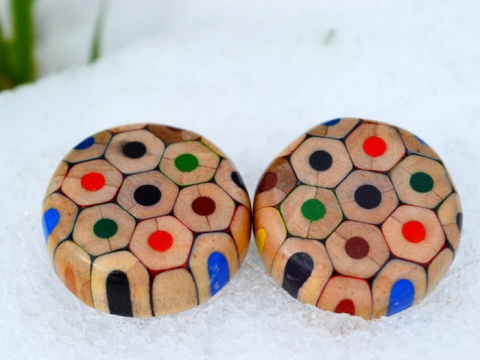Чеська майстриня оригінально використовує олівці не за призначенням (10 фото) (8)