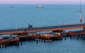 К Крымского мосту открывают автоподход: оккупанты похвастались новыми достижениями
