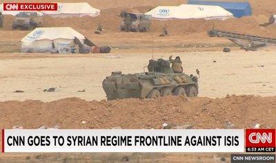 Журналисты случайно засняли российские войска во время наземной операции в Сирии (1)
