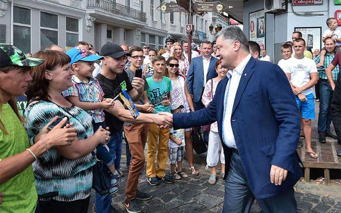 Порошенко знайшов в Україні європейську столицю: опубліковані фото