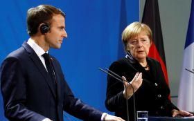 Не забыли об Украине: Меркель и Макрон обратились к Путину с жестким требованием